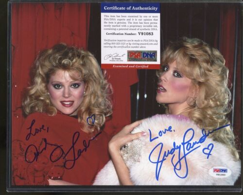 Ann Landers Judy Lander Signed 8x10 Photo PSA/DNA COA AUTO Autograph Stock Photo