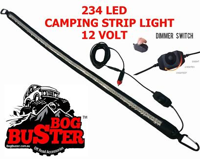 BOGBUSTER 234 LED STRIP LIGHT LIGHTS CAMPING 12 VOLT TENT FISHING