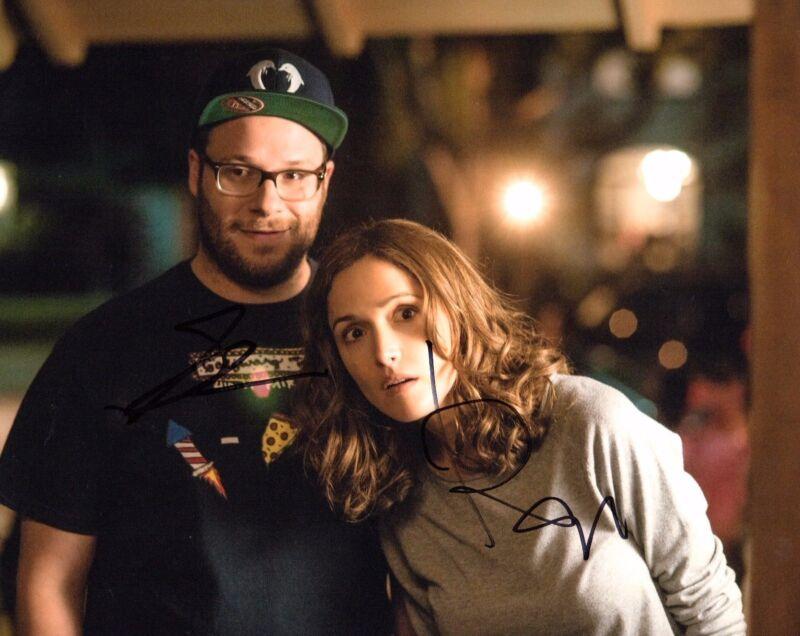 GFA Neighbors Movie * SETH ROGEN & ROSE BYRNE * Signed 8x10 Photo AD2 COA