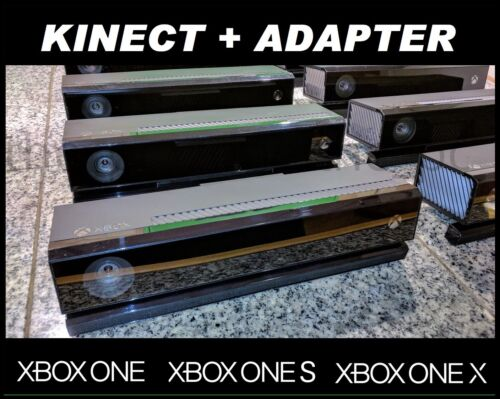 XBOX ONE X S KINECT MOTION SENSOR with ADAPTER for XBOX ONE S & PC Twitch Mixer