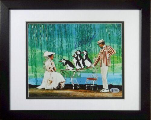 Dick Van Dyke Mary Poppins Penguin signed 8x10 Jolly Holiday Frame Beckett