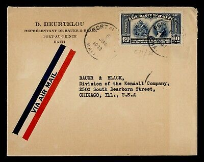 1939 HAITI AIRMAIL TO USA
