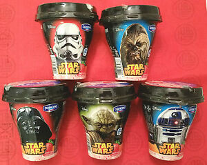 COMPLETE 5 SET STAR WARS FORCE AWAKENS DANONE SHAKE CUP - 250g EMPTY - <span itemprop=availableAtOrFrom>Gdynia, Polska</span> - COMPLETE 5 SET STAR WARS FORCE AWAKENS DANONE SHAKE CUP - 250g EMPTY - Gdynia, Polska