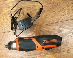 Black & Decker Cordless Pivoting Screwdriver Drill Rechargeable