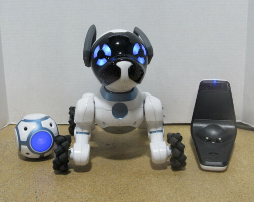 WowWee Interactive Chip Robot Toy Puppy Dog 0805 w/ SmartBall and SmartBed