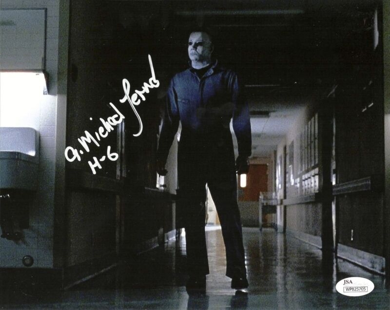 A. MICHAEL LERNER signed 8x10 Photo HALLOWEEN Curse of Michael Myers 6 JSA