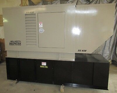 50 Kw Diesel Generator Perkins 4.236t Single Or Three Phase Magnetek 120240480