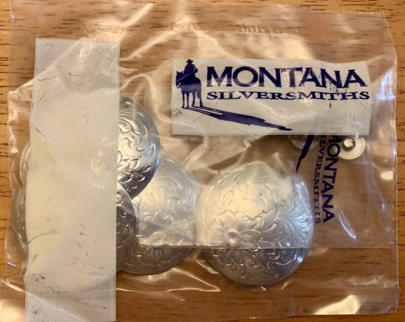 Montana Silversmiths Saddle Concho Set