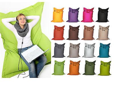 Sitzsack Sitzkissen Sessel für Kinder 100x70cm Polyester diverse Farben online kaufen