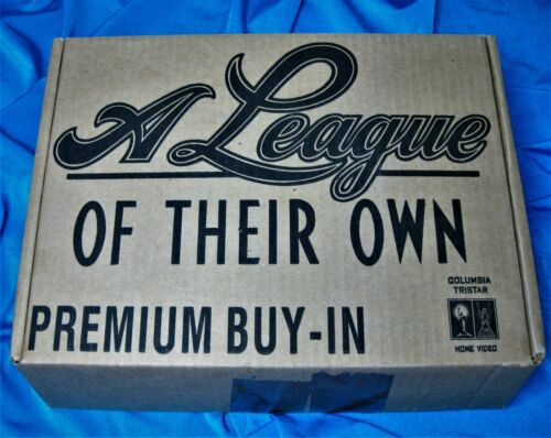 MADONNA A LEAGUE OF THEIR OWN BOX SET PROMO COLUMBIA VIDEO w SEALED BASEBALL