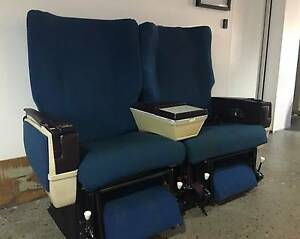 Original Airline Chairs - Perfect for Home Cinema, Study & More Crows Nest North Sydney Area Preview