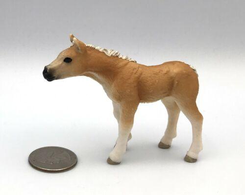 Schleich HAFLINGER FOAL Baby Horse Animal 13699 Figure 2011
