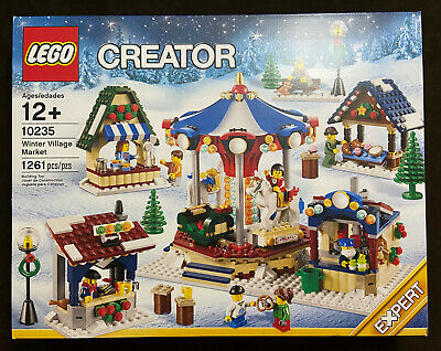 LEGO Creator Winter Village Market 10235 Seasonal Holiday Christmas Retired NEW