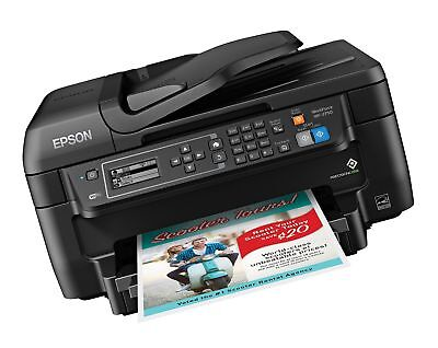 Epson WF-2750 All-in-One Wireless Color Printer with Scanner Copier & Fax
