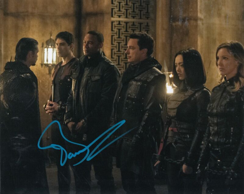 JOHN BARROWMAN signed *THE FLASH* ARROW TV SHOW 8X10 photo W/COA TORCHWOOD #1