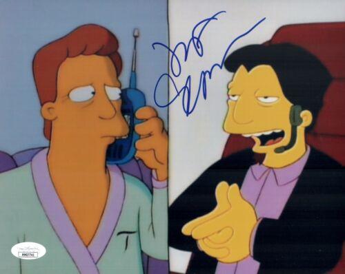 JEFF GOLDBLUM Signed THE SIMPSONS rare 8x10 Photo with JSA COA