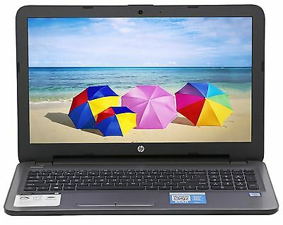 "New HP 15.6"" Intel Core i3-6100U 2.3 GHz 8GB Ram 1TB HD DVD RW Windows 10 Silver"