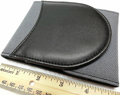 Cool Charcoal Billfold Shirt Or Purse Pocket Bic Scoop Jotter Personal Notebook