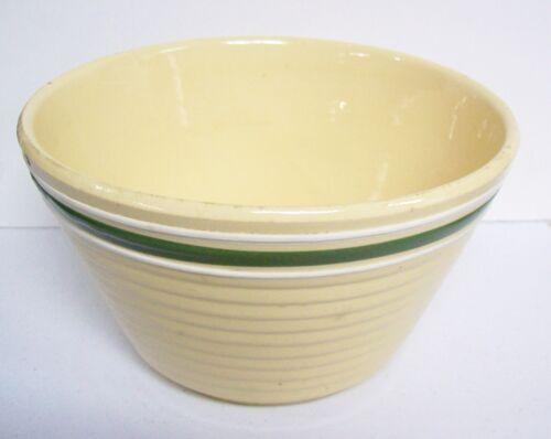 Vintage Crockery WATT Green Line Bowl