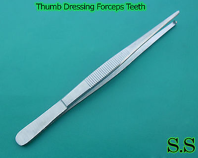 5 Rat Tooth Tissue Thumb Forceps 5.5 Surgical 1x2teeth