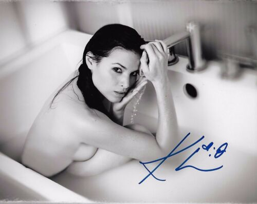 Katrina Law Arrow Autographed Signed 8x10 Photo COA #4