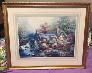 Nicky Boehme framed print Country Retreat