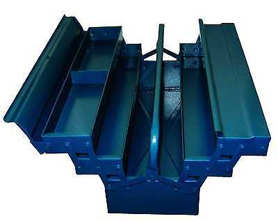 HAUCK Werkzeugkasten Metall 530mm 5-tlg Werkzeugkiste W… |