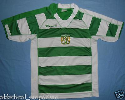 YEOVIL TOWN FC/2007-2009 Home - VANDANEL - VTG MENS Shirt/Jersey. Size: S image