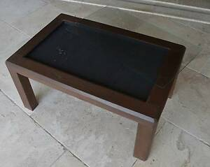 Handcrafted Coffee Table with inset for photos/images Lilli Pilli Sutherland Area Preview