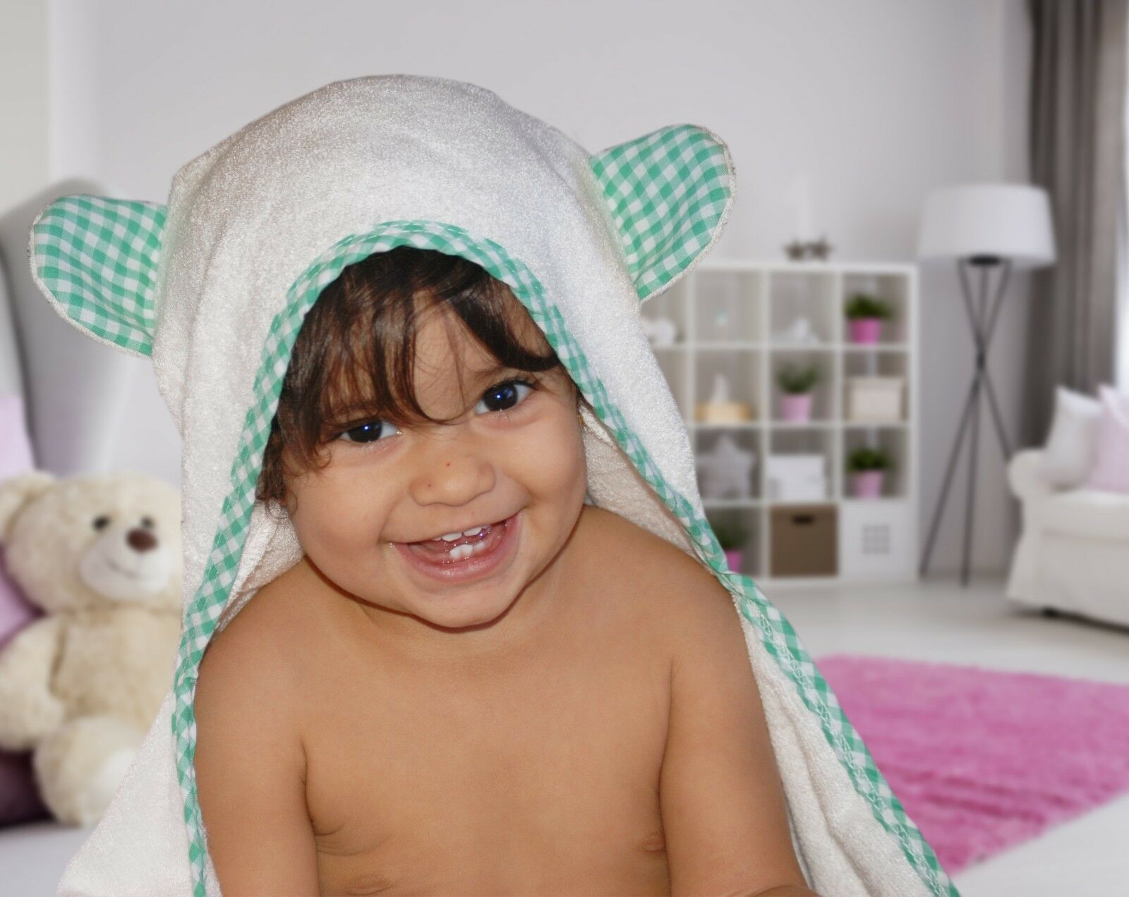 Organic Hooded Baby Towel for Newborn, Toddlers, and Infants