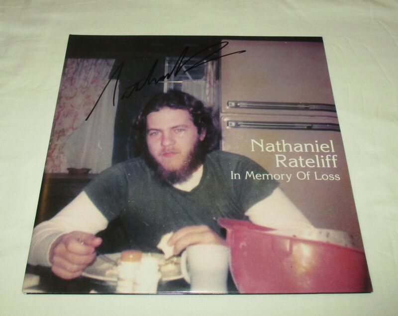 NATHANIEL RATELIFF SIGNED IN MEMORY LOSS VINYL RECORD