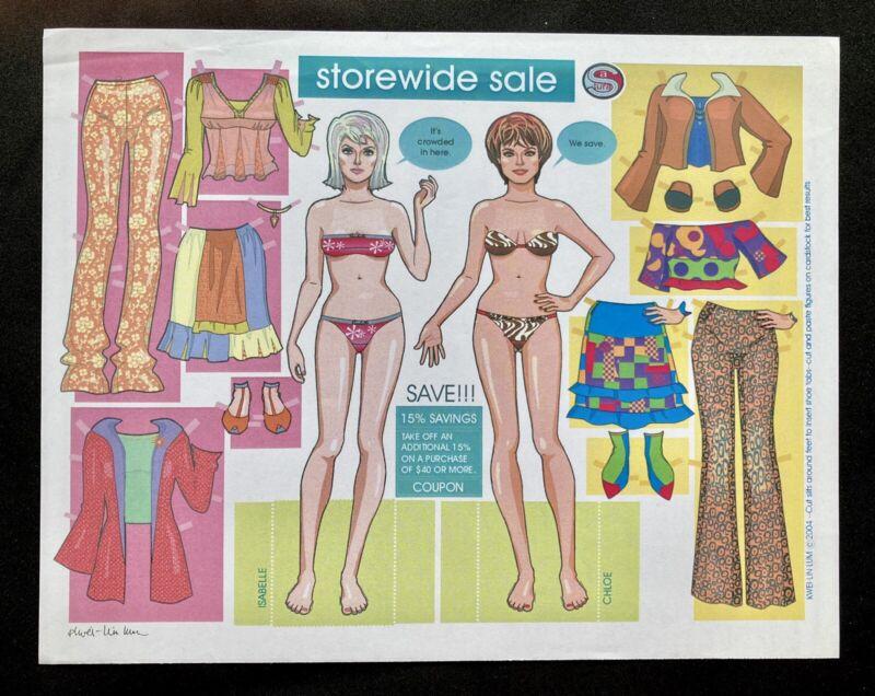 Storewide Sale Paper Doll 2004 by Kwei-Lin Lum, Uncut