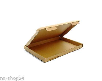 25 Piezas Envío grande De cartón DIN A5 230x160x20 Cajas plegables marrón...