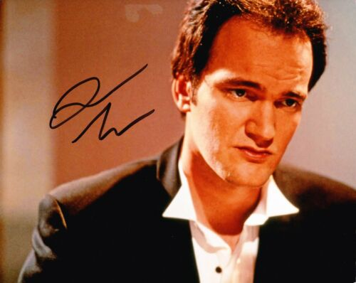 Quentin Tarantino Signed 10X8 Photo ICONIC DIRECTOR AFTAL COA (5240)