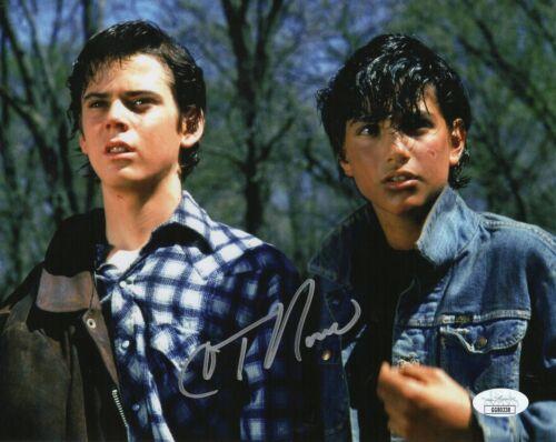 "C Thomas Howell Autograph Signed 8x10 Photo - The Outsiders ""Pony Boy"" (JSA COA)"