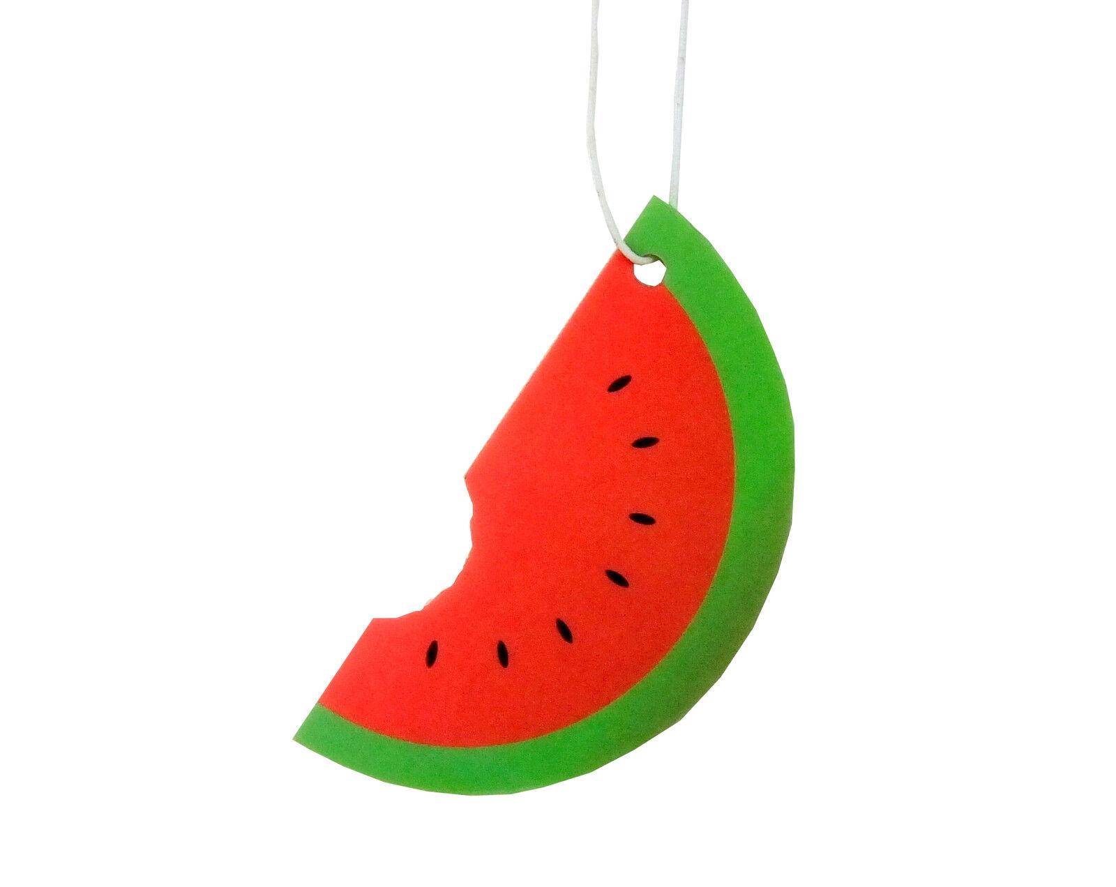 Car Freshener: Watermelon Fruit Car Air Fresheners Hanging Scent Home