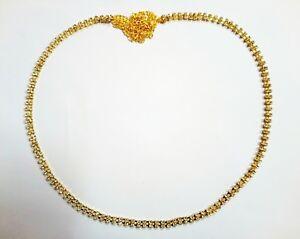 GoldTone CZ Waist Belt Indian Bollywood Ethnic Kamar Bandh Belly Dance Hip Chain