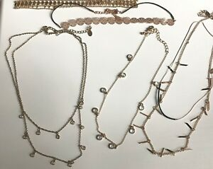 Lot of chokers and necklaces / Aldo, Dynamite