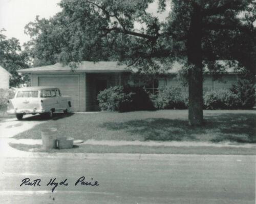 RUTH HYDE PAINE SIGNED 8x10 PHOTO w/COA MARINA OSWALD FRIEND JFK ASSASSINATION