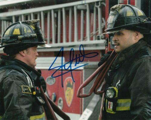 JOE MINOSO signed (CHICAGO FIRE) TV SHOW auto 8X10 photo *Joe Cruz* W/COA #4