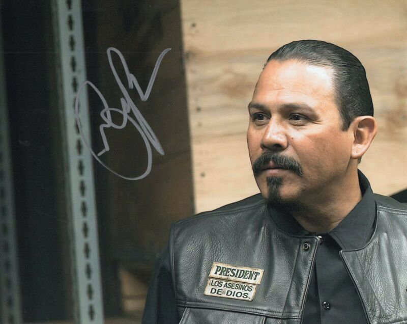 Emilio Rivera Sons of Anarchy TV Show Marcus Alvarez Signed 8x10 Photo w/COA #7