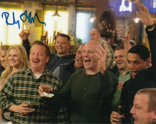 RANDY FLAGLER signed (CHICAGO FIRE) TV SHOW 8X10 photo * Capp Harold* W/COA #2