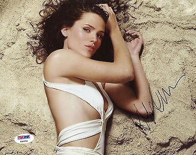 Jennifer Garner Signed Psa Dna Coa Sexy 8X10 Photo Auto Autographed Psa Pose 7
