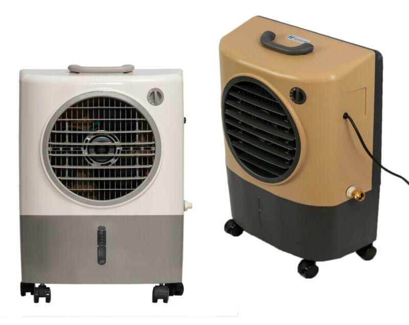 Hessaire MC18M Compact Portable 1300 CFM Indoor/Outdoor Evaporative Cooler