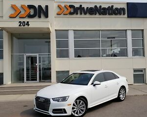 2018 Audi A4 2.0T Komfort AWD 2.0L 220HP! KOMFORT LEATHER 7SP...