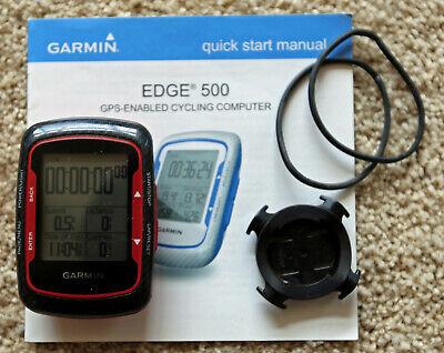 Garmin Edge 500 GPS Bike Computer - 2 Cadence-Speed Sensors & 2 Heart Sensors