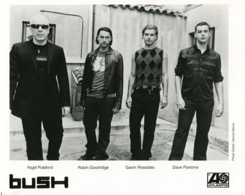BUSH 2002 Golden State PRESS KIT!!! promo Photo Info Sheets Article reprints etc