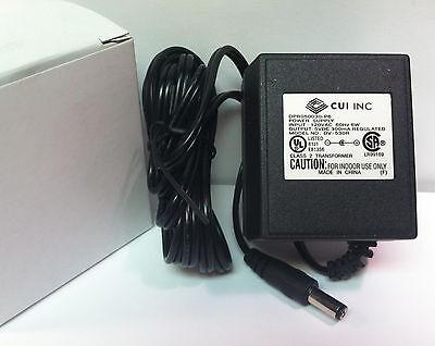 New Cui Dpr050030-p6 Dv-530r Regulated Power Supply 120vac 60hz 6w -5vdc 300ma