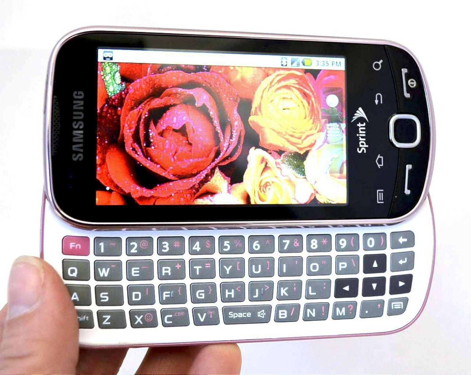 Samsung SPH-M910 INTERCEPT Sprint Android Phone PINK Wireless cell  Smartphone