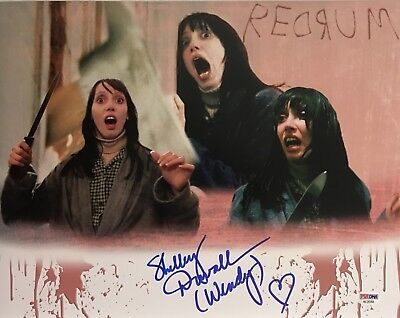 Shelley Duvall Signed Autographed Custom Shining 11X14 Photo Wendy Proof Psa Dna